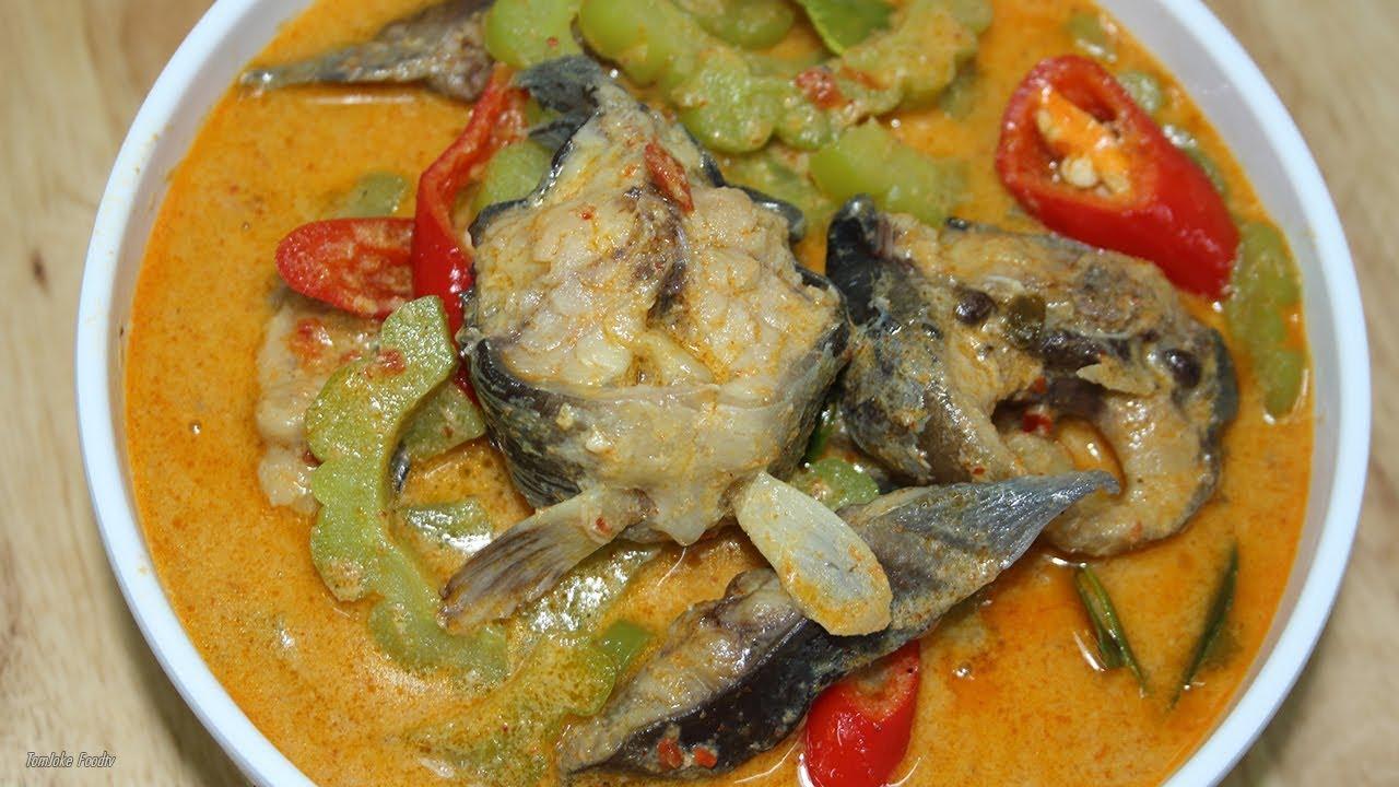 แกงคั่วมะระปลาดุก