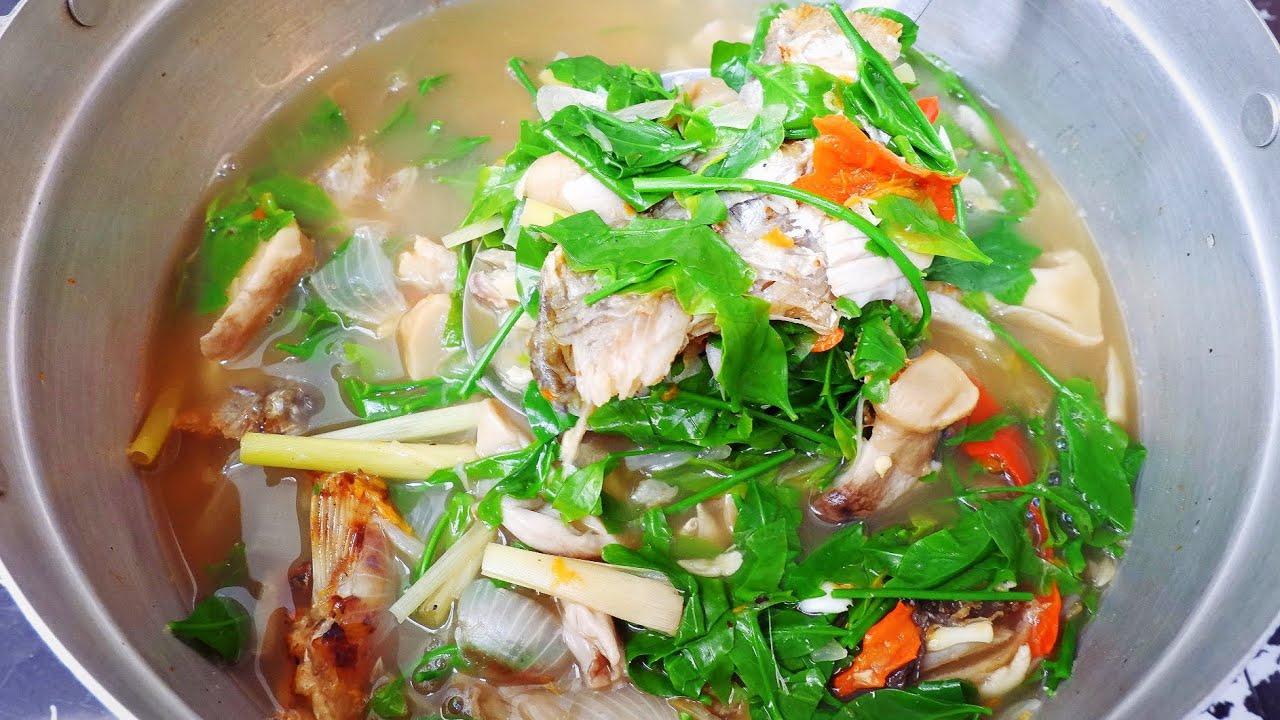แกงผักหวานใส่ปลาย่าง